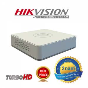 ĐẦU GHI HD-TVI 2MP/3MP/4MP H265+ (TURBO 4.0) DS-7104HQHI-K1