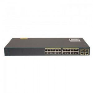 WS-C2960+24TC-S Catalyst 2960 Plus 24 10/100 + 2T/SFP LAN Lite