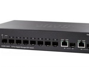 CISCO SG350-10SFP-K9-EU 10-Port Gigabit Managed SFP Switch