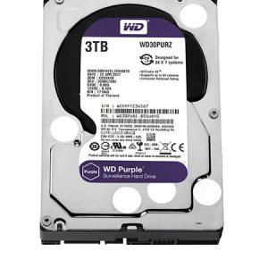 Ổ cứng Western WD Purple 3TB WD30PURZ – Chuyên dụng cho CAMERA