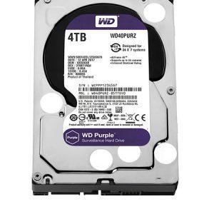 Ổ cứng Western WD Purple 4TB WD40PURZ – CHUYÊN DỤNG CHO CAMERA
