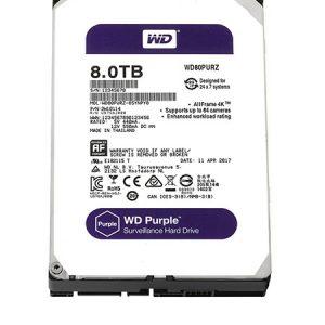 Ổ cứng Western WD Purple 8TB WD81PURZ – CHUYÊN DỤNG CHO CAMERA