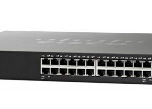 CISCO SG350X-24-K9 24-Port Gigabit Stackable Managed Switch